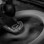 The Potter _ his wheel-Shahnaz Parvin
